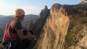 Entre la cresta de las Cuevas y la de las Jotas